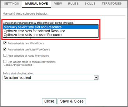 manual move