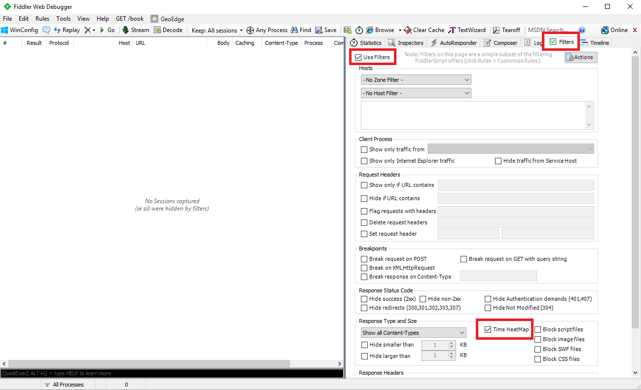 How to create Fiddler trace - Resco Mobile CRM