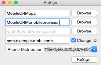 Guide for Enterprise Deployment on iOS - Resco Mobile CRM