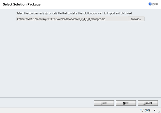Download and Import of the solution file 2.2.1_3