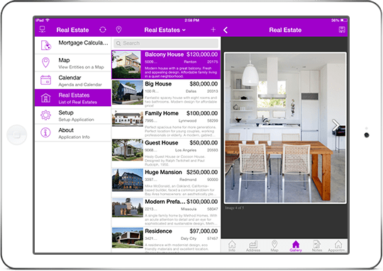 consumer apps real estate app