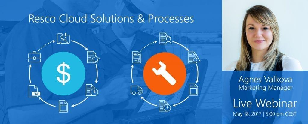 resco cloud solutions and processes webinar