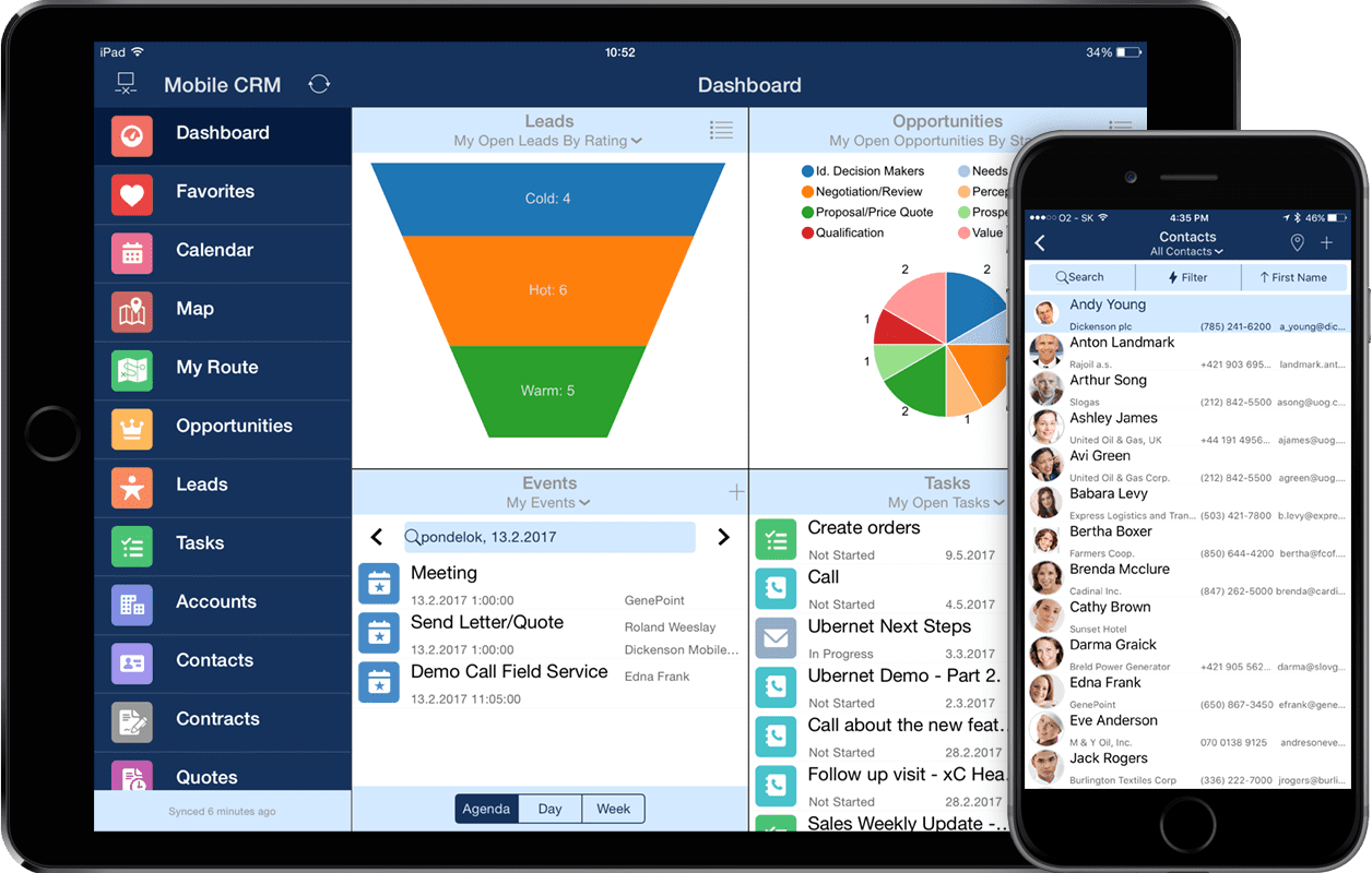 Salesforce Offline Mobility With Resco Mobile Crm Resco