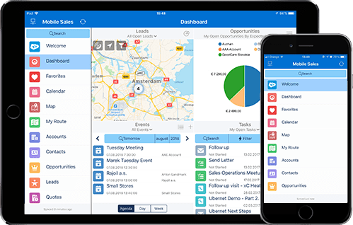 Salesforce Offline Mobility with Resco Mobile CRM | Resco