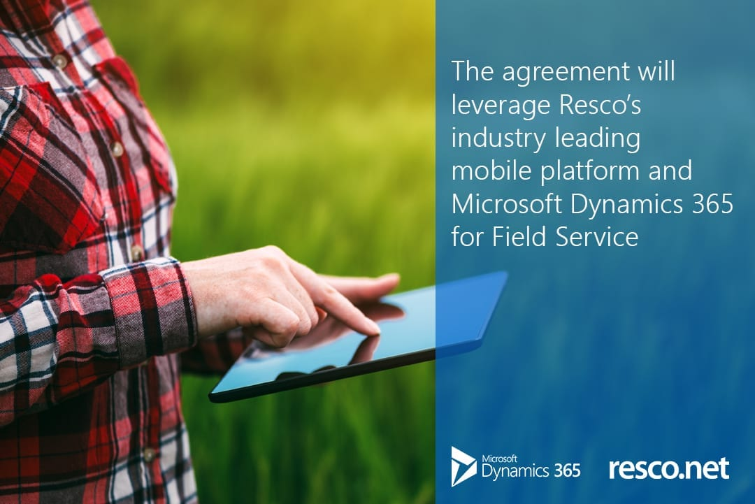 agreement-Resco-with-Microsoft-Dynamics-365-Field-Service