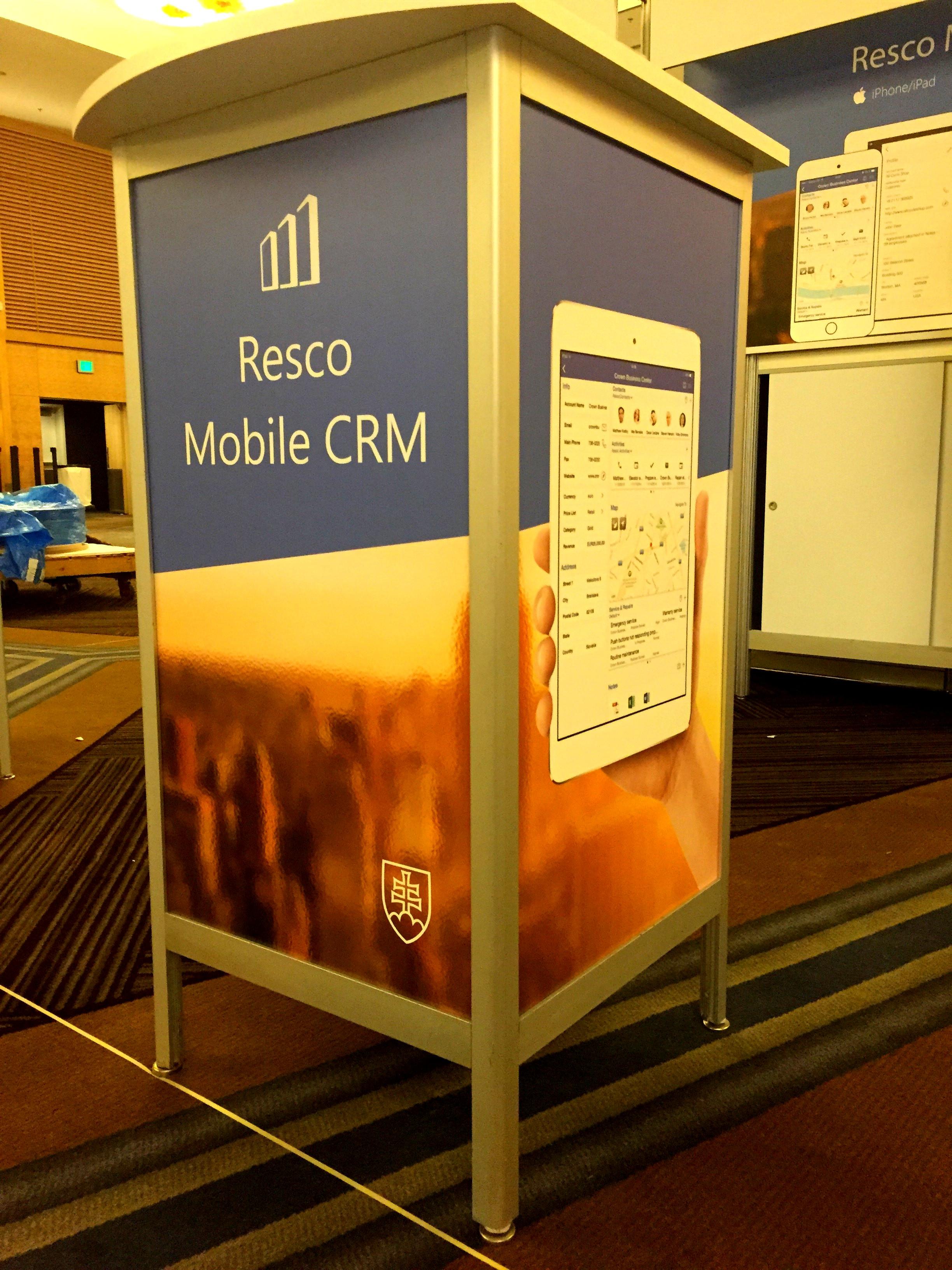 Resco_mobileCRM_booth