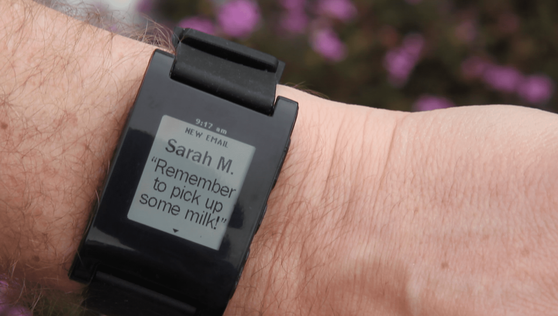 Pebble smartwatch, enterprise smartwatches