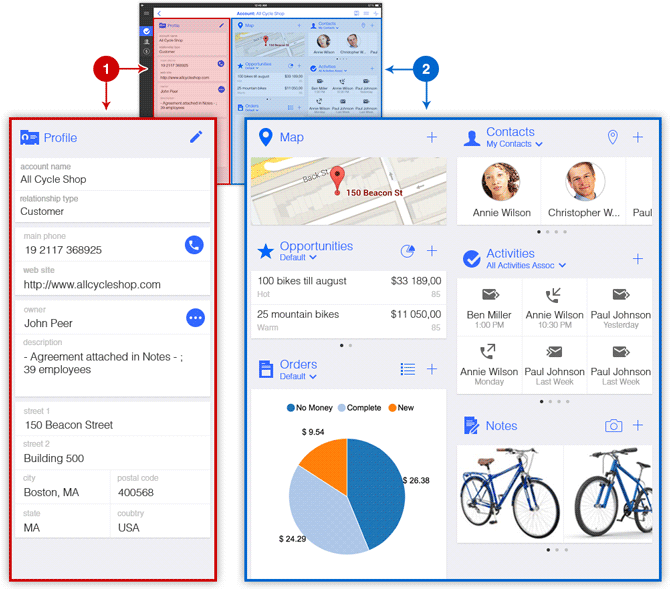 New Forms in Resco Mobile CRM for Microsoft Dynamics CRM
