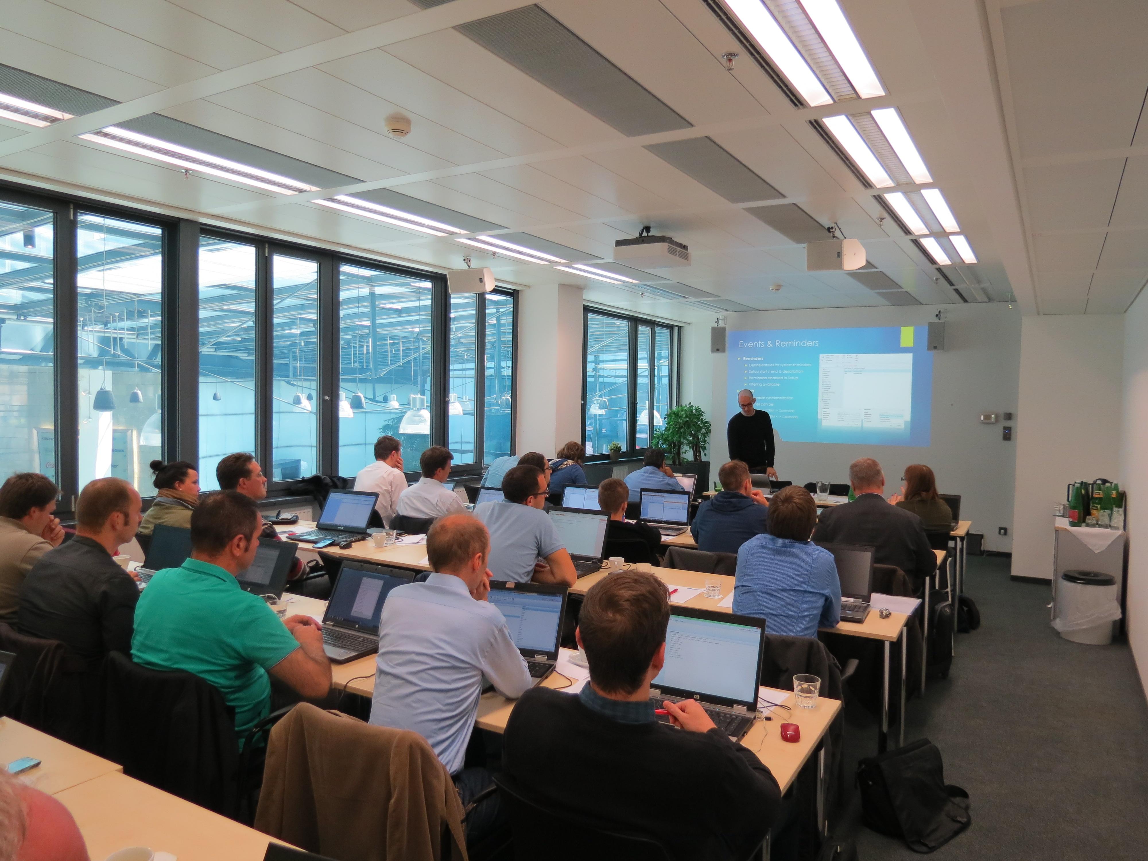 Resco Mobile CRM workshop in Vienna, Austria