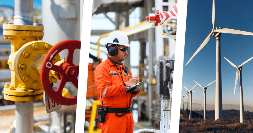 digital asset maintenance in energy industry