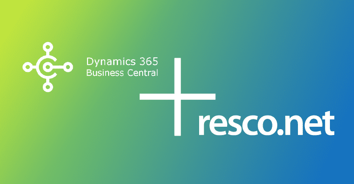 Microsoft Business Central and Resco solutions integrations
