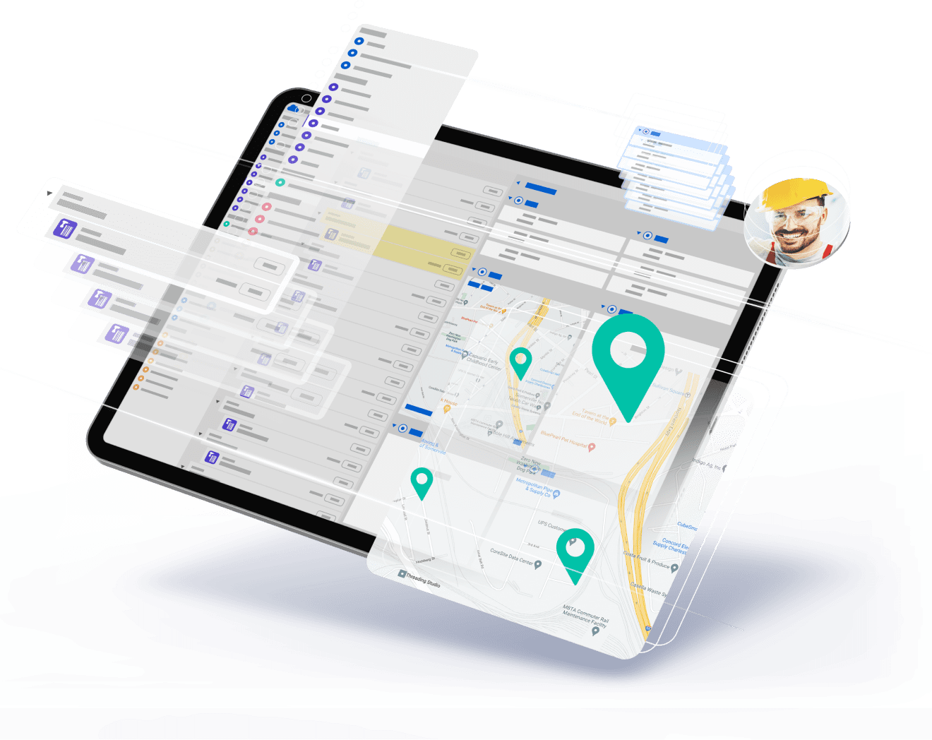World-class mobility for your teams combined with powerful management and scheduling tools