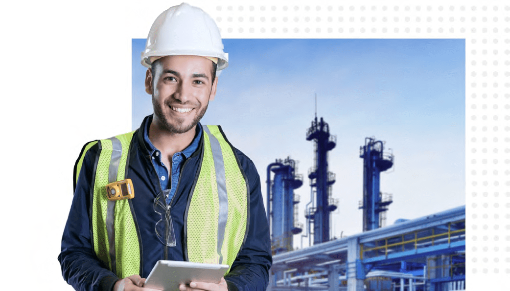 Mobile inspections in oil and gas industry