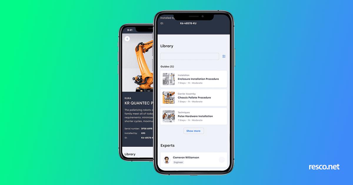 resco houston workforce management app