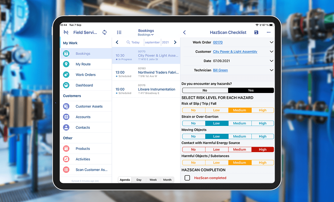 Resco Field Service 2.0 comes with Resco Inspections included