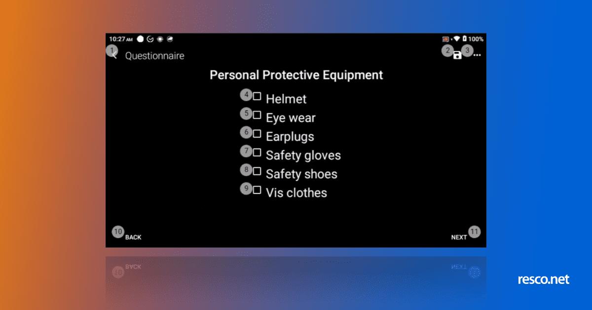 RealWear user interface UI redesign